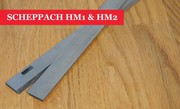 SCHEPPACH HM1 & HM2 Slotted Planer Blades Knives - 1 Pair At UK