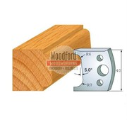 Online Profile 002 Spindle Moulder Cutters - 40mm Profile Knives